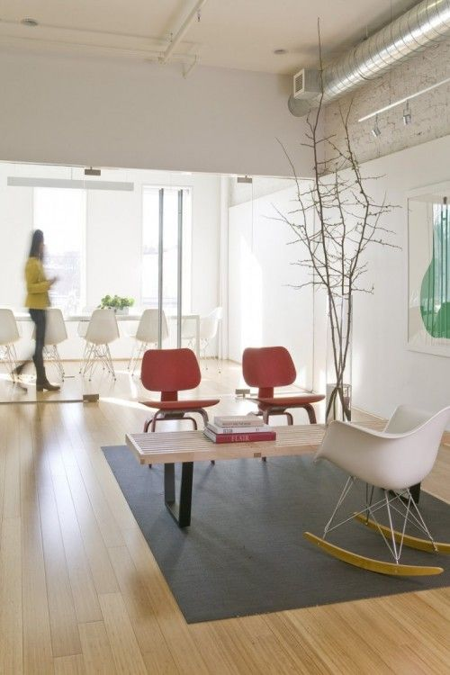 Cool Quot Waiting Room Quot Reception Area Retro Interior Design
