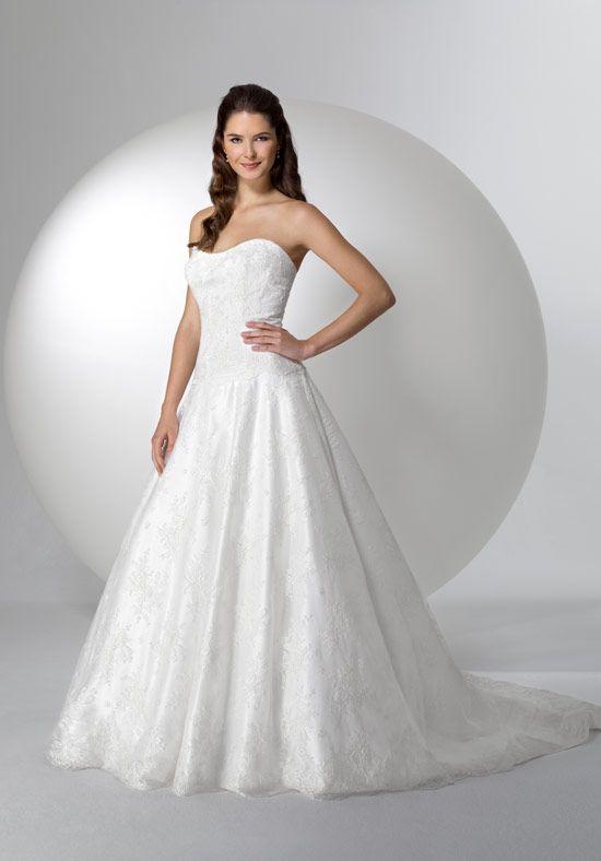 alita graham sweetheart princess/ball gown in satin - Google Search ...