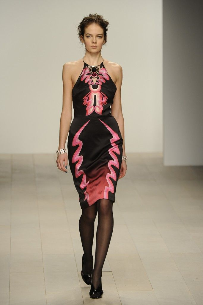 Holly Fulton RTW Fall 2012 - Great Structure fabulous pattern!