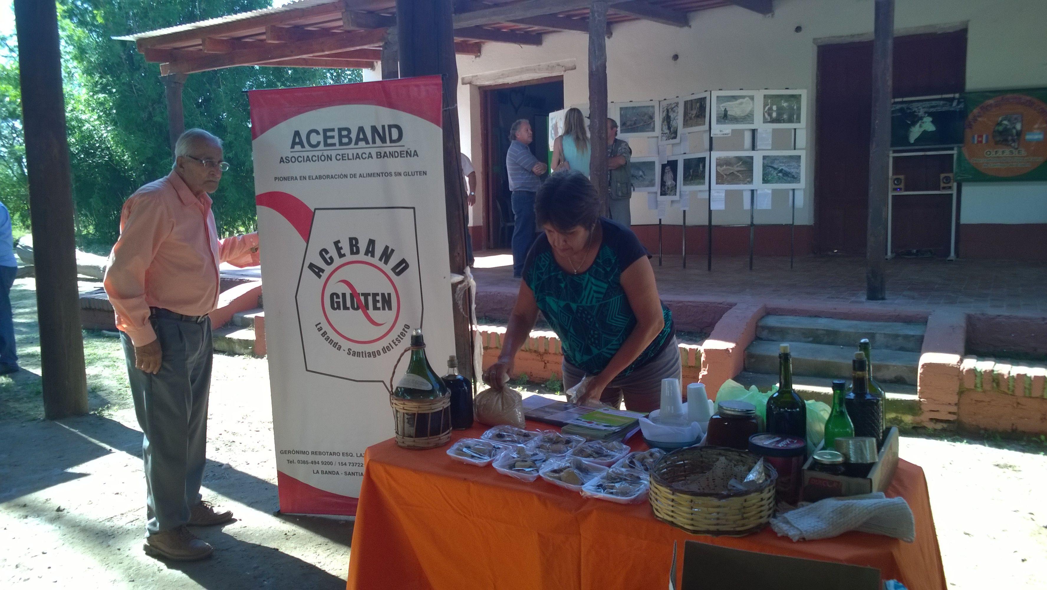 ACEBAND:  asociación celiaca bandeña . presente en el 2° Congreso de Turismo Rural  en Vinará - Santiago del Estero - #TafiTravel