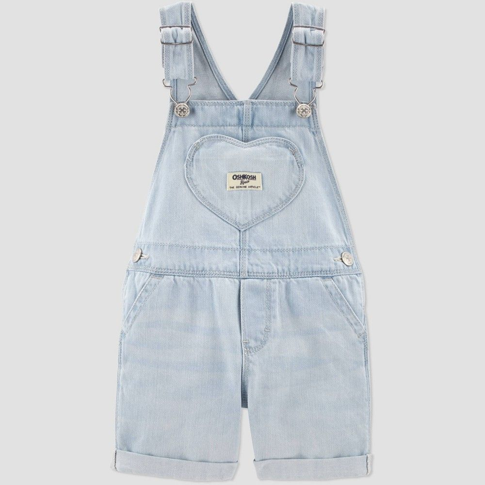 Oshkosh B/'Gosh Girl Dungarees Overalls Children Jeans Blue