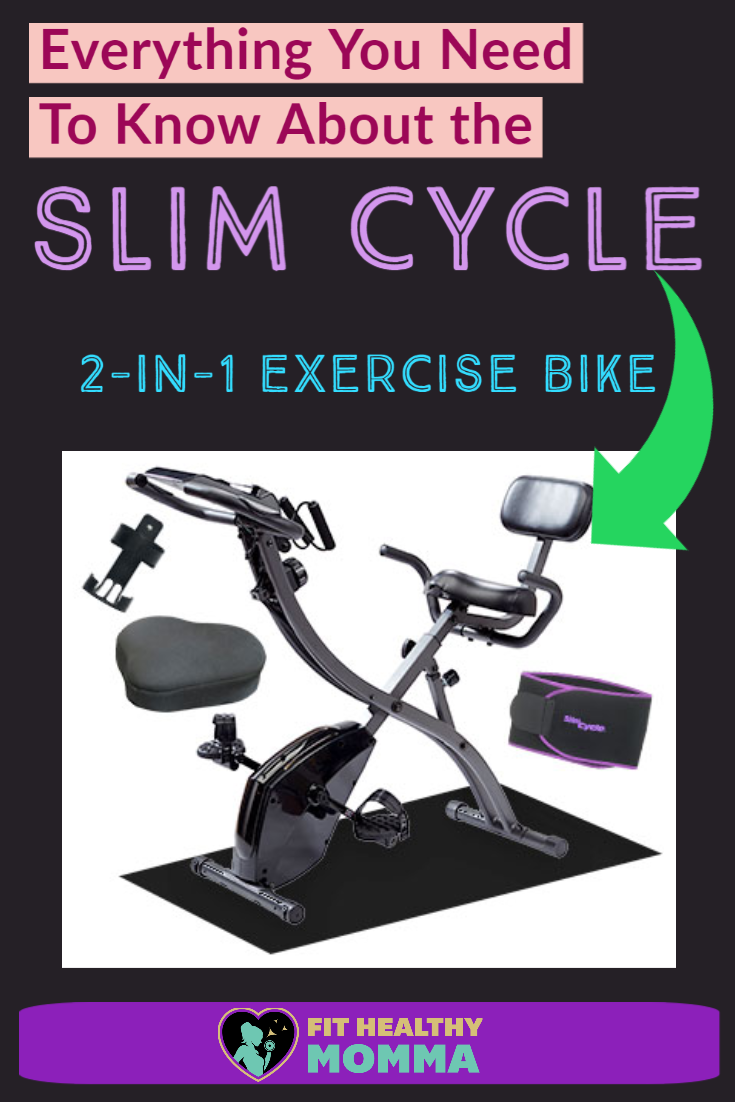 Review Slim Cycle 2 In 1 Exercise Bike As Seen On Tv By Fit Healthy Momma Biking Workout Home Gym Equipment Cycle