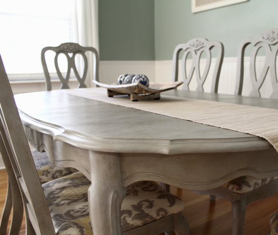 what kind of paint to use on dining room table | The AS clear wax acts as a furniture sealer/protector, as ...
