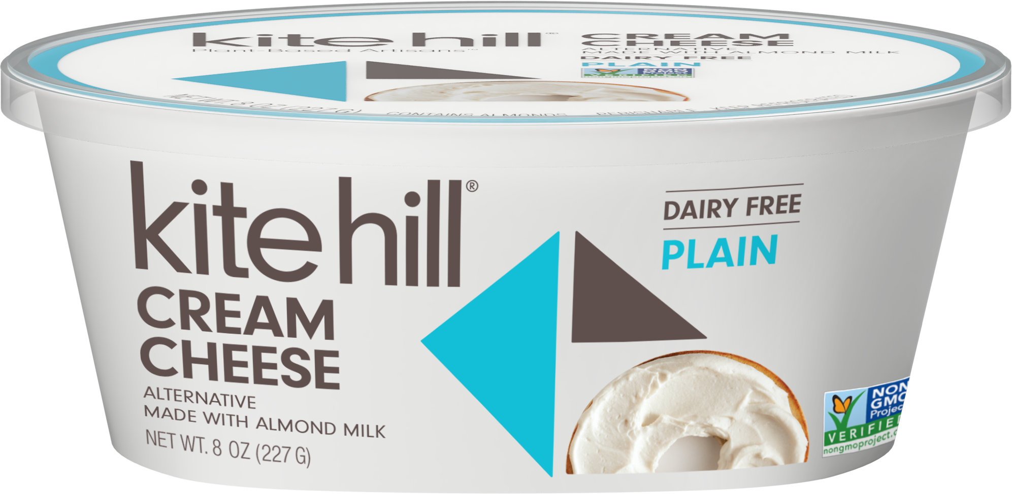 Kite Hill Cream Cheese Alternative In 2020 Cheese Alternatives Dairy Free Cream Cheese Plant Based Cream Cheese
