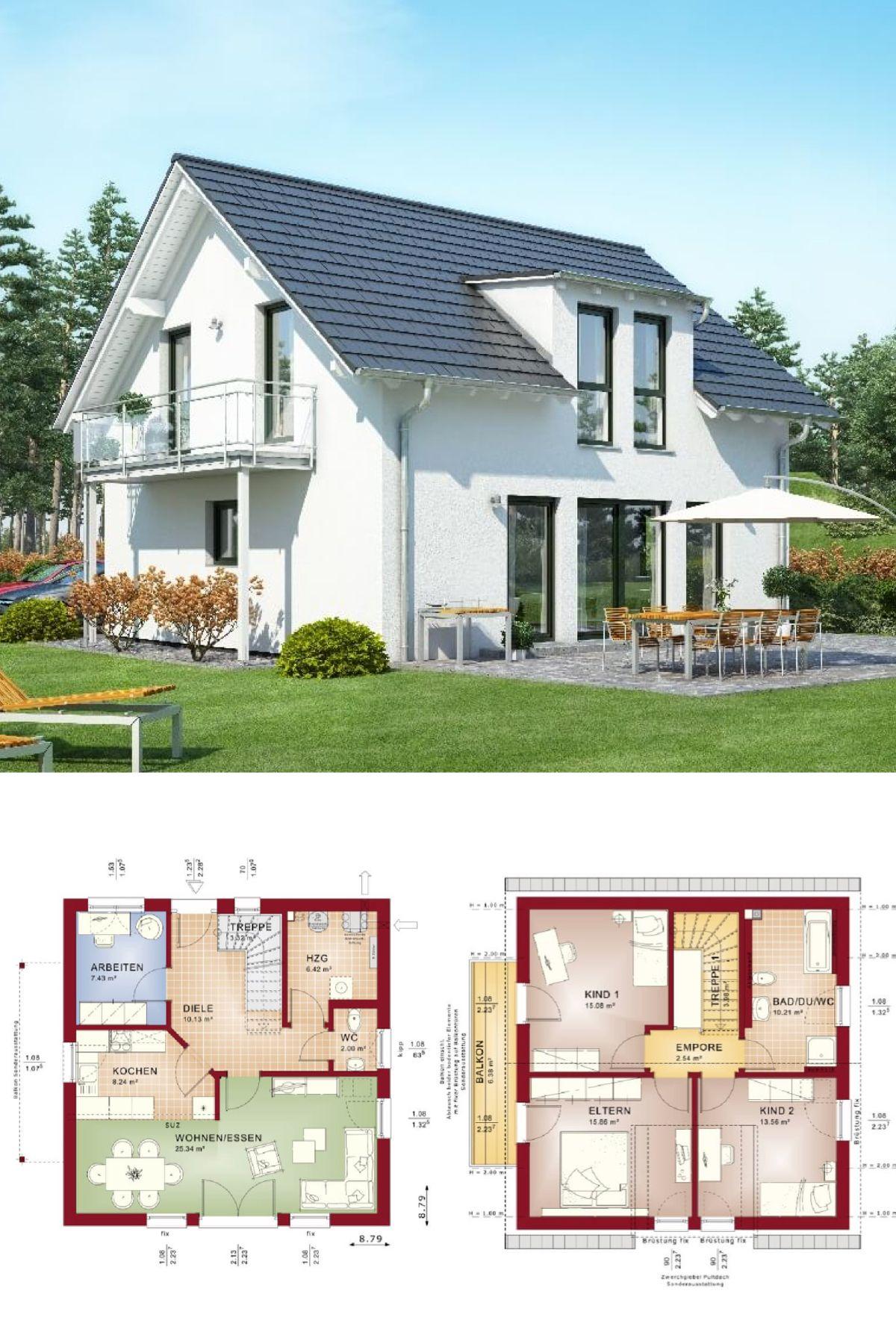 Satteldachhaus HausbauDirekt