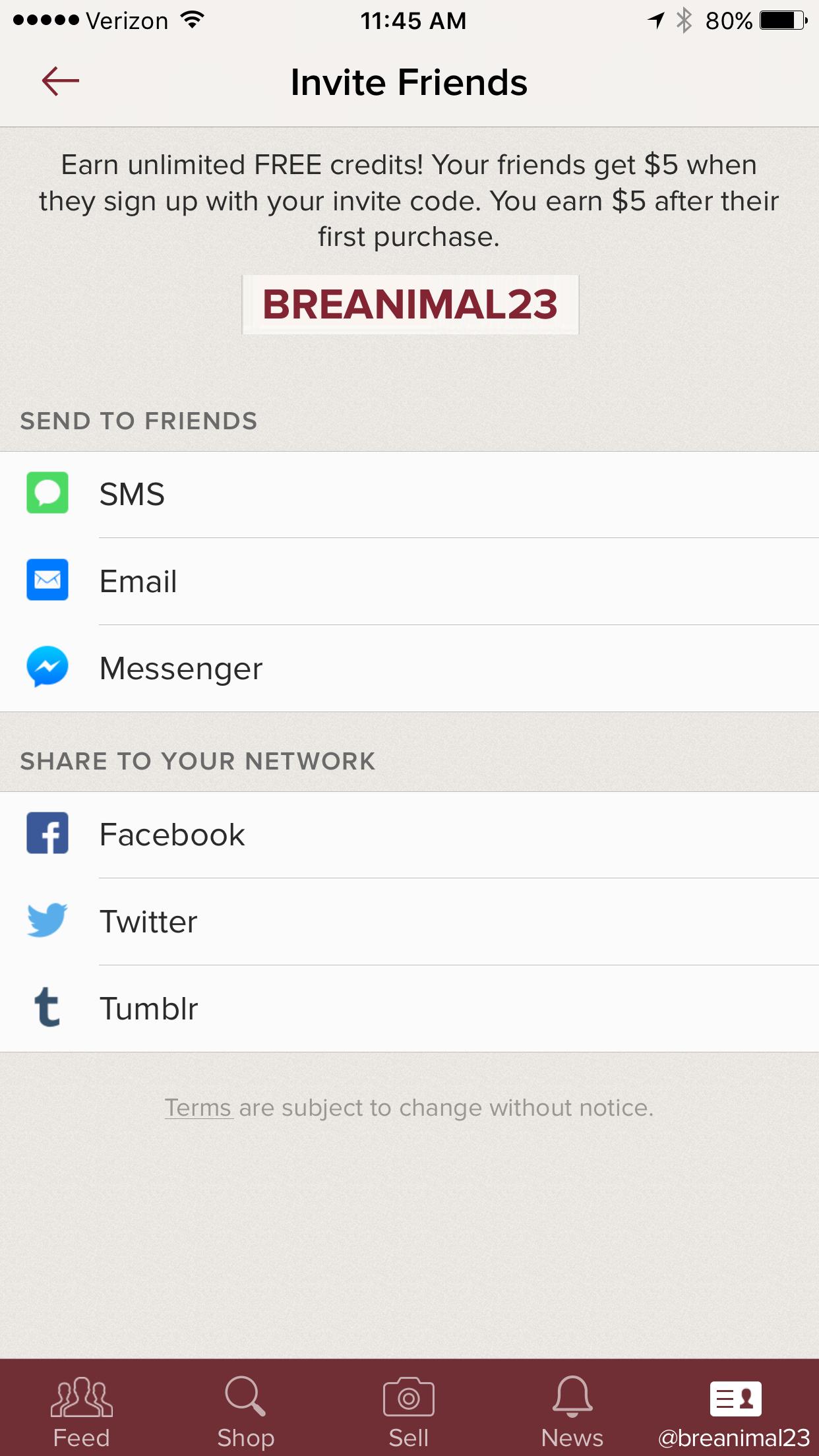 Poshmark Invite Code Referrals Invite Codes Pinterest