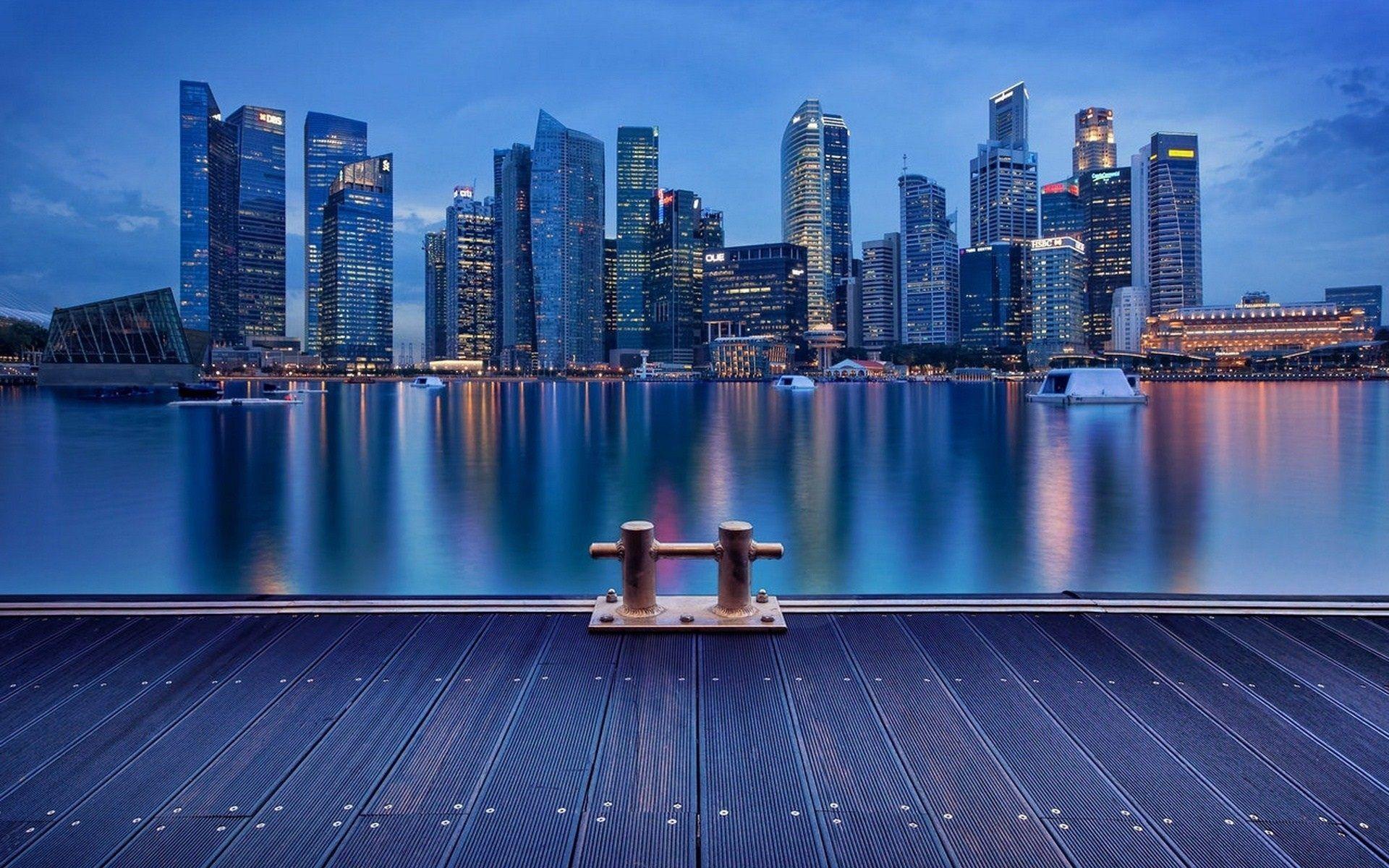 City Night View Wallpaper Hd Download For Desktop Mobile 도시 배경화면 스카이라인 도시