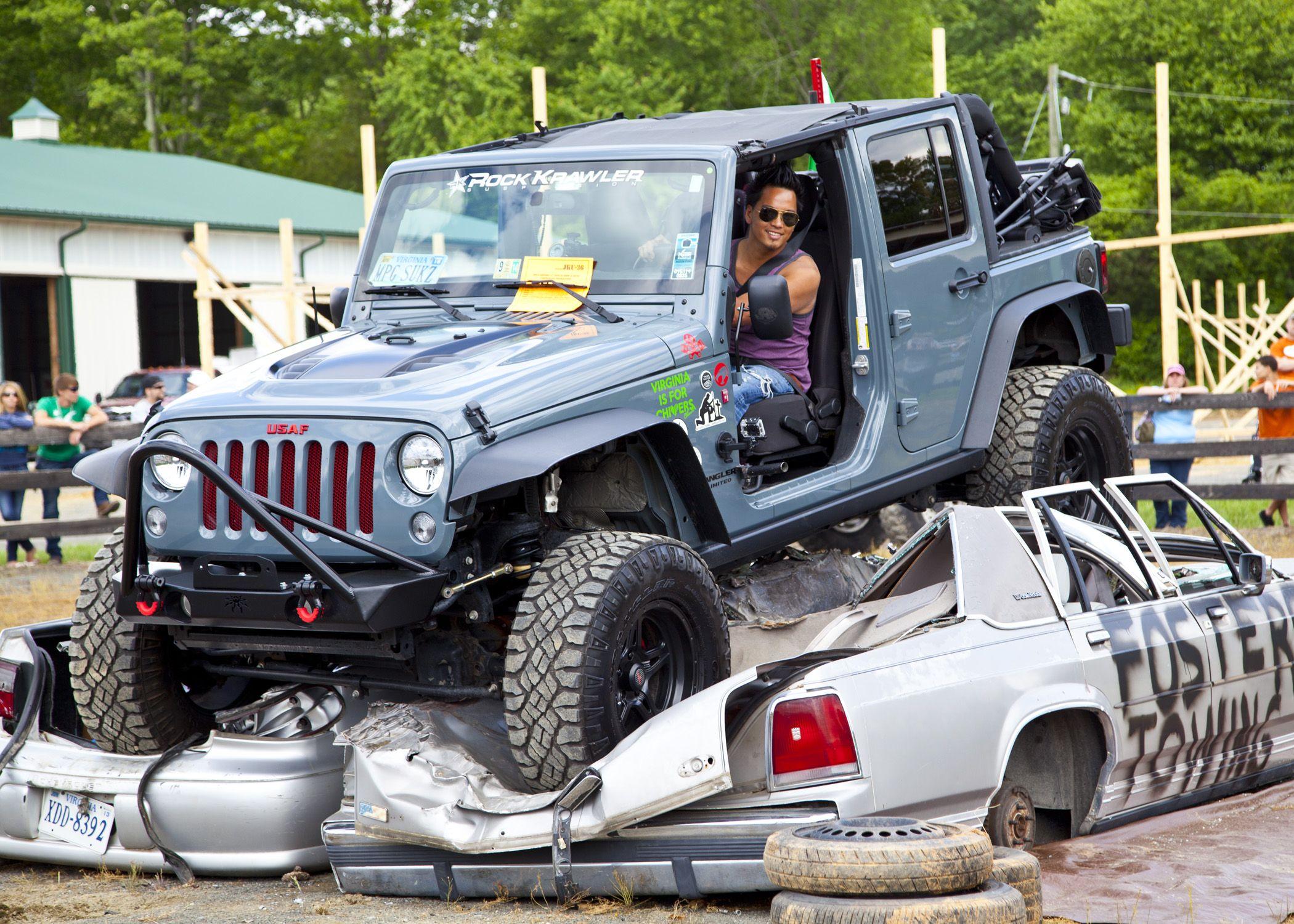 14 Anvil Jeep Wrangler Jku Poison Spyder Front Stinger