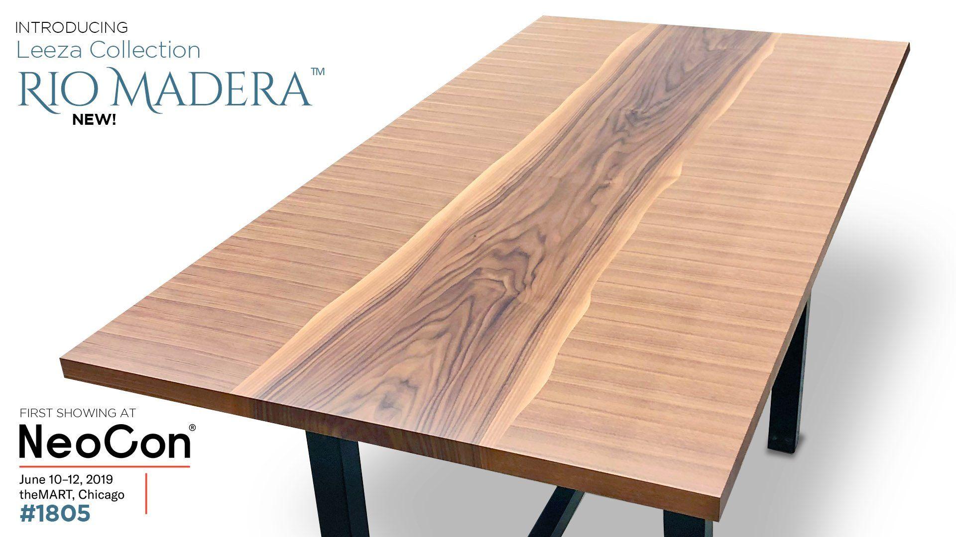 Leeza™ and Rio Madera™ Contemporary Tables  Contemporary