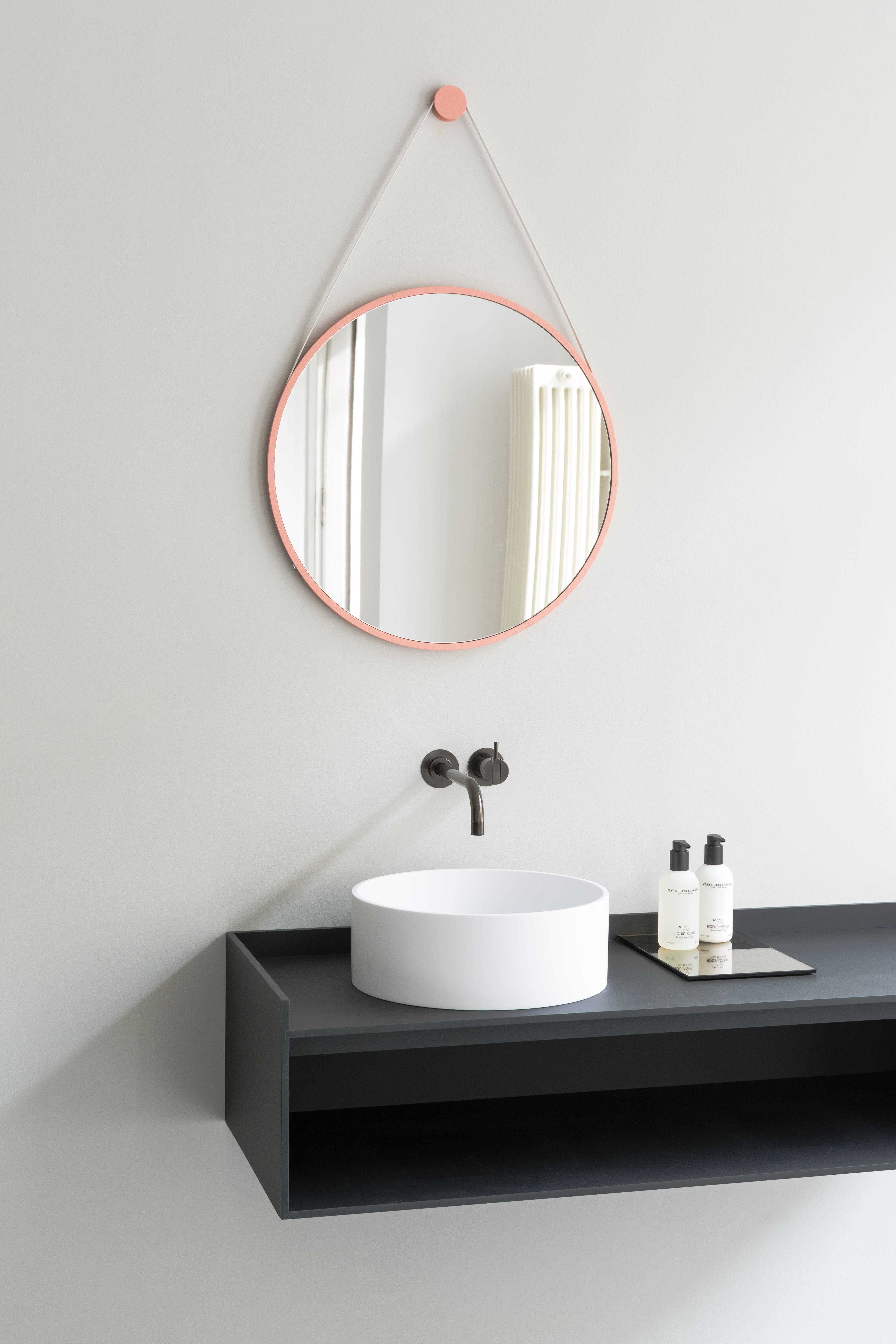 COCOON black bathroom design inspiration | stainless steel bathroom ...