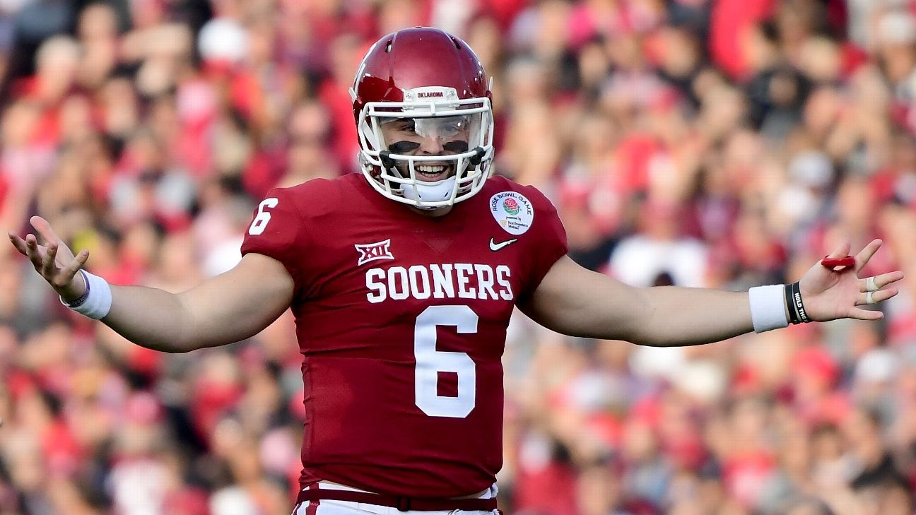 Browns draft Mayfield with No. 1 overall pick Cheap