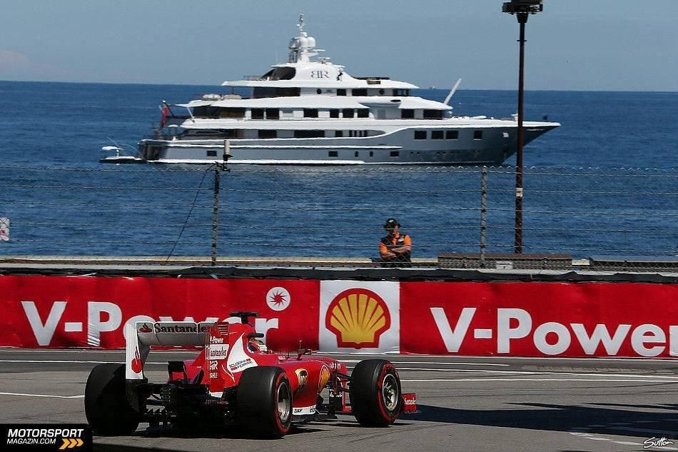 Monaco Shell oil company, Motorsport, Motorsport events