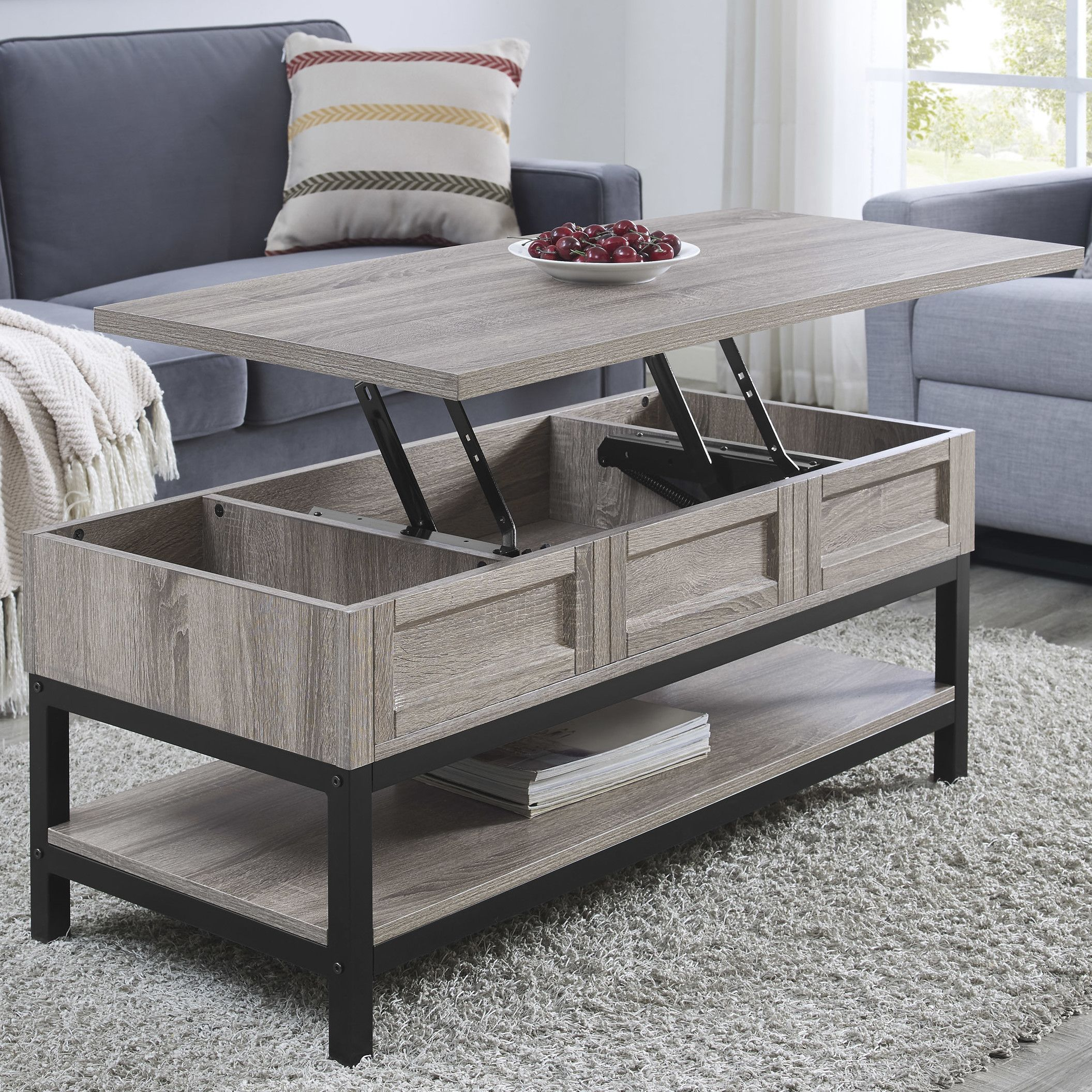 Laurel foundry modern farmhouse omar coffee table with lift top laurel foundry modern farmhouse omar coffee table with lift top reviews wayfair geotapseo Image collections