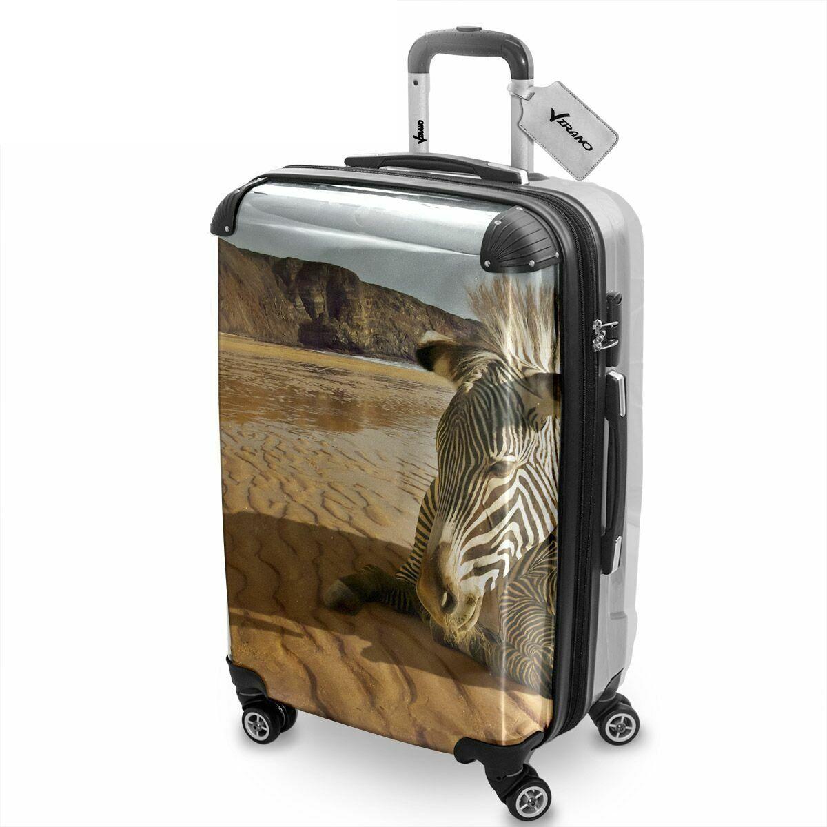 Wild Animals 10005, Africa, Lightweight Hard Case Luggage Shell ...