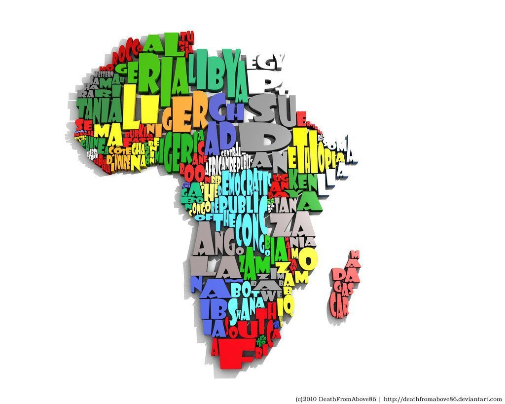 10 Most Creative Maps of Africa That Will Blow Your Mind | culture