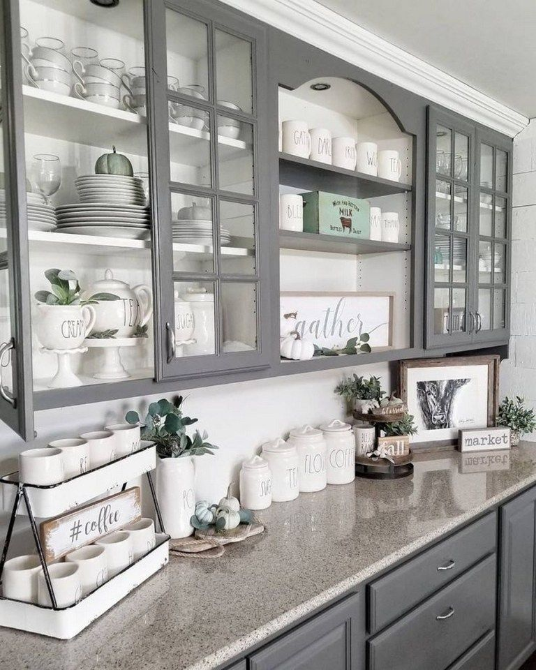 ✔62 chic farmhouse kitchen design and decorating ideas 30 ~ aacmm.com
