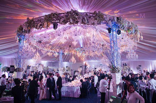 Celebrity Wedding Toni Gonzaga And Paul Soriano Reception Photos
