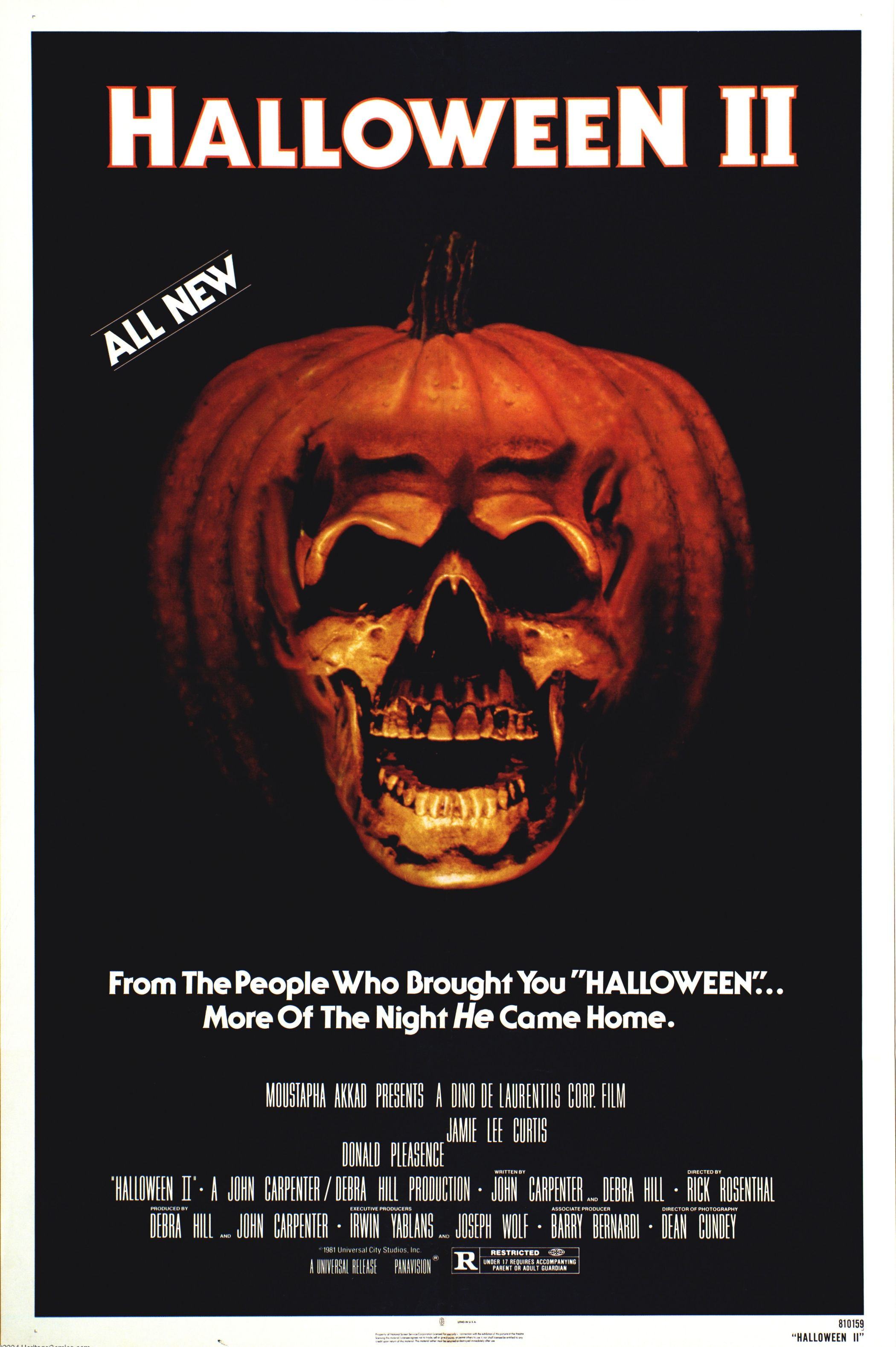 halloween ii original soundtrack cd burned compact discs music house of mysterious secrets specializing in horror merchandise collectibles - Halloween 2 Music