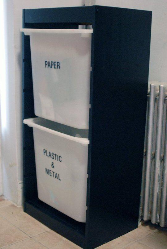 Ikea Detournement Hack Poubelles Recyclage Cuisine De Location