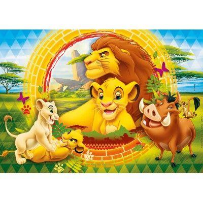 Puzzle Der König der Löwen