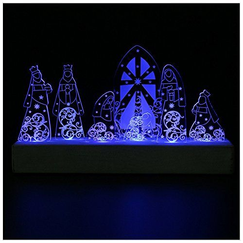 Giftgarden holy family led decor in nativity set for christian giftgarden holy family led decor in nativity set for christian gifts catholic gift easter gifts negle Choice Image
