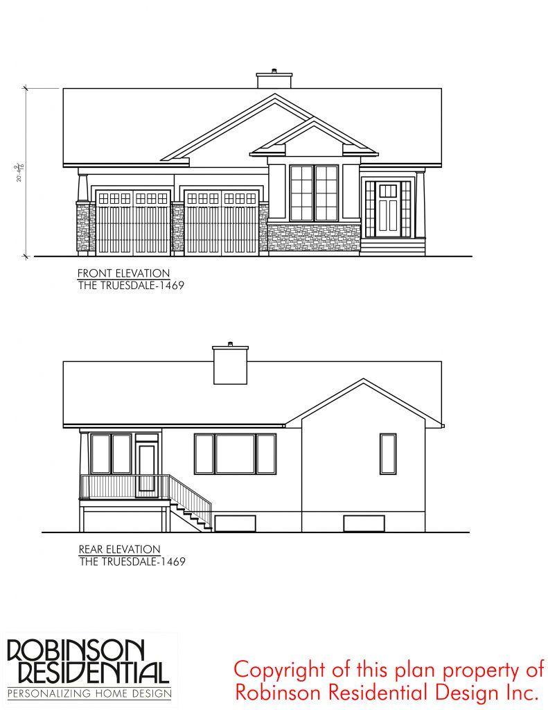 Craftsman Truesdale 1469 Robinson Plans In 2020 Basement House Plans Bungalow House Plans Modern House Floor Plans