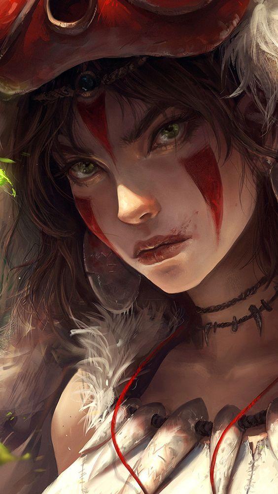 Portrait of Princess Mononoke