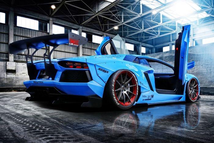 Visit The MACHINE Shop Café... ❤ The Best of Lamborghini... ❤ (Custom LB★Works Aventador)