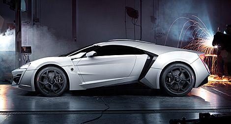 Conheça o Lykan Hypersports, o carro mais caro do mundo..