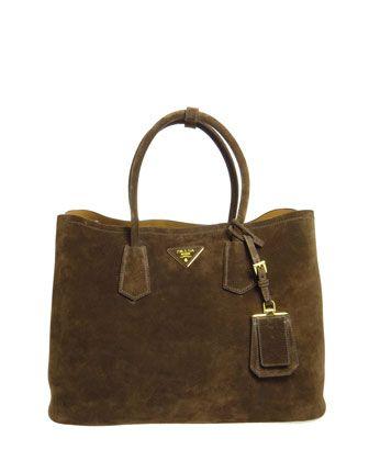 1b29aea328 Suede Double Bag