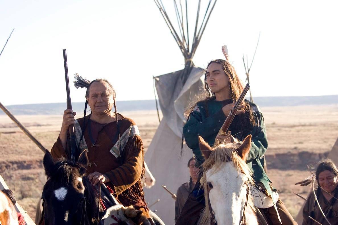 Russell Means and son, Tatanka Means Oglala Lakota