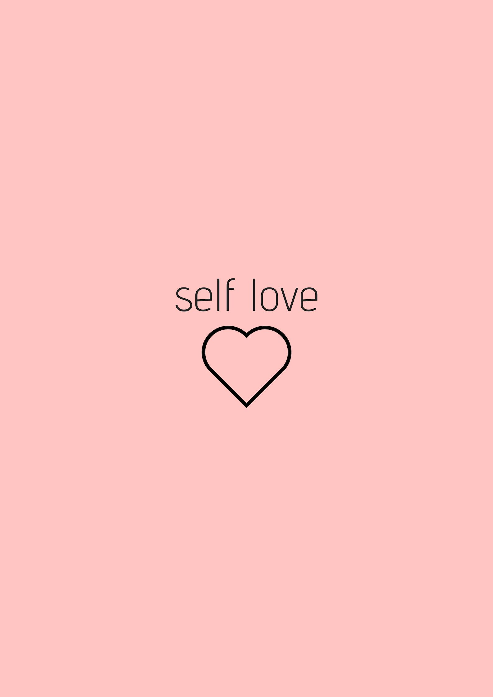 Self Love Self Love Pastel Pink Aesthetic Artsy Pictures