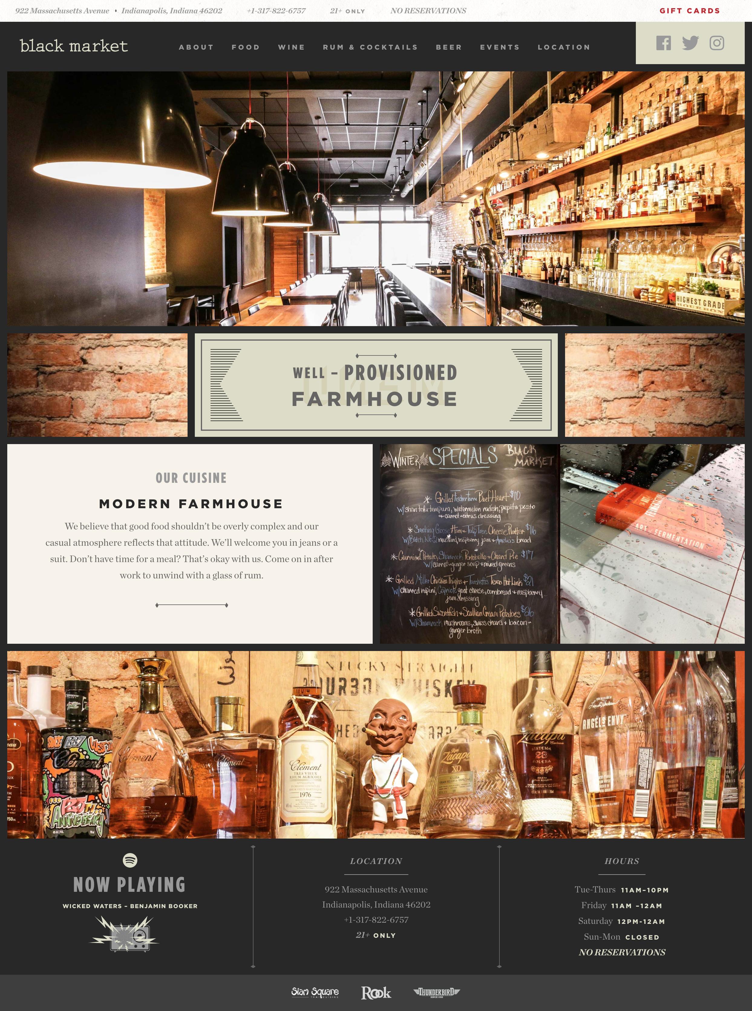Beautiful Web Design For A Restaurant Beautiful Web Design Beer Specials Marketing