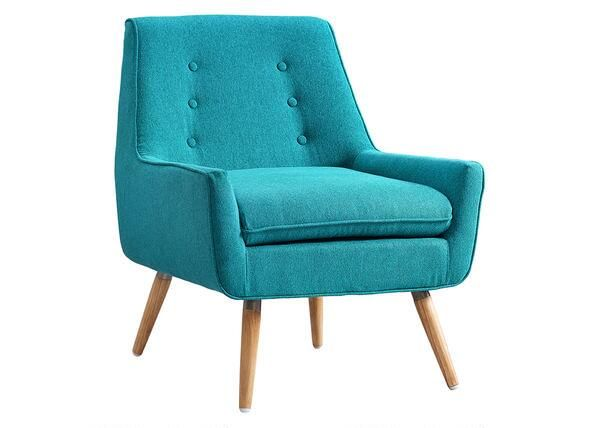 Trelis Accent Chair Blue Upholstered Arm Chair