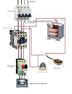 Esquemas el ctricos motor bomba trifasico contactor - Cuadro electrico domestico ...