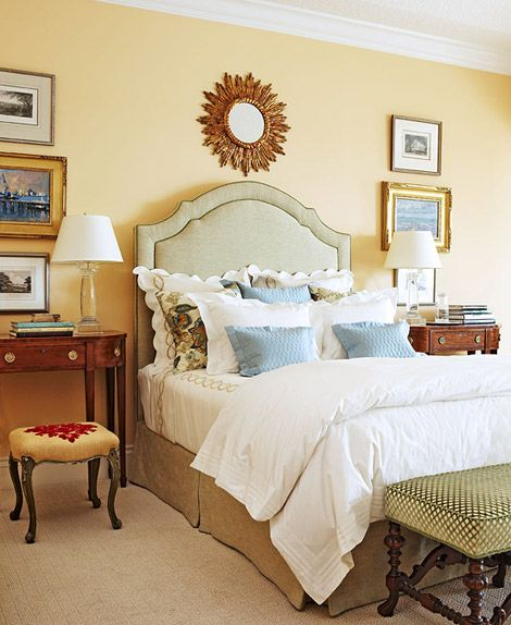 Beautifully Decorated Bedrooms From Showhouses All Over
