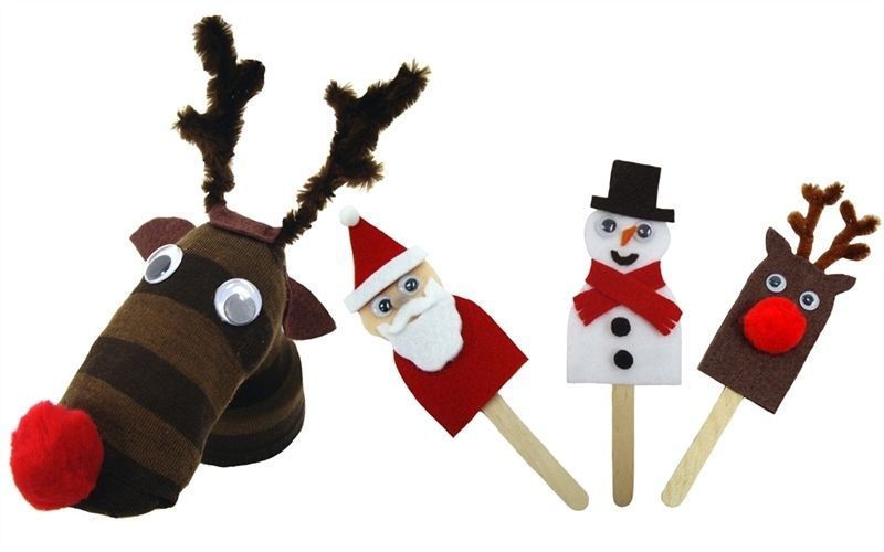 Helping mister maker engage with children away from the television, this festive friends kit is a perfect way to keep hands and imaginations busy! Each kit contains exciting, high quality craft components with clear instructions. Mister maker craft kits make fun projects for children to play and learn with, and are an ideal gift or rainy day must have. Makes 4 puppets. www.creativitycrafts.co.uk