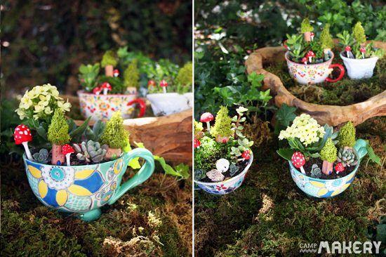 19 Cute DIY Teacup Garden Ideas