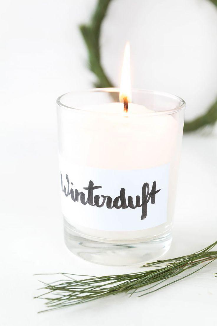 22 duftkerzen einfach selbst gemacht diy geschenke pinterest kerzen weihnachten und duft. Black Bedroom Furniture Sets. Home Design Ideas