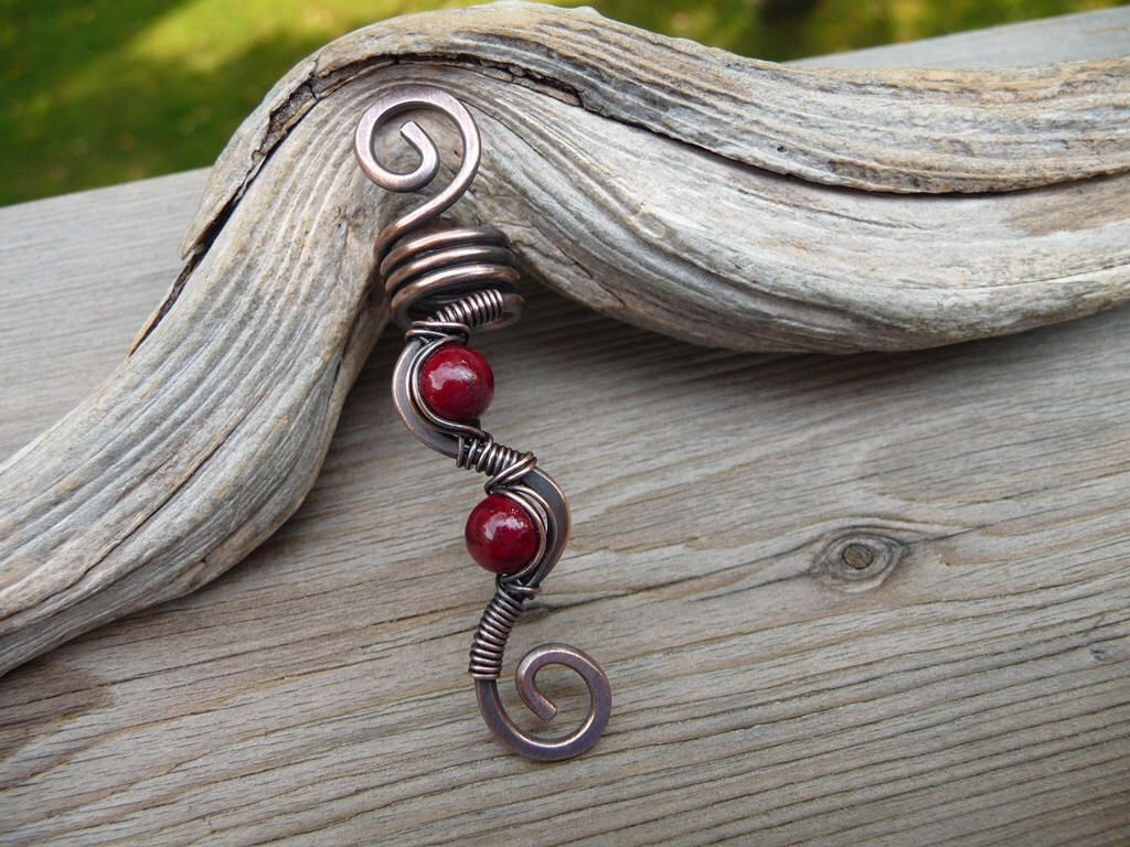 Pin by Valerie Mott on Wire Work | Pinterest | Viking hair, Red ...