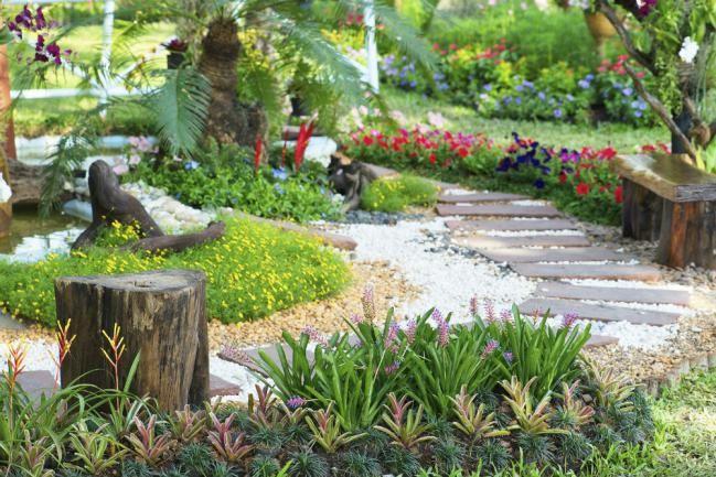 8 ideas para diseñar un camino en tu jardín - IMujer Jardín Deco