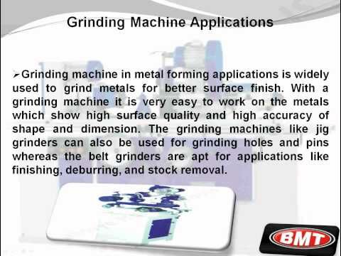 Information On Machine Tools Grinding Machine Grinding Machine Applications Including Bolt Grinding Bench Grind Grinding Machine Machine Tools Metal Forming