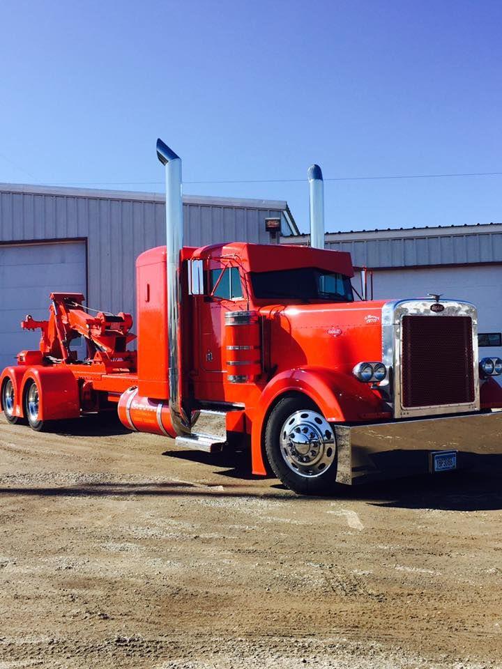Peterbilt Tow Truck Tow Truck Trucks Peterbilt Trucks