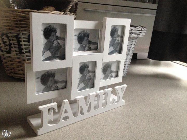 Family-valokuvakehys