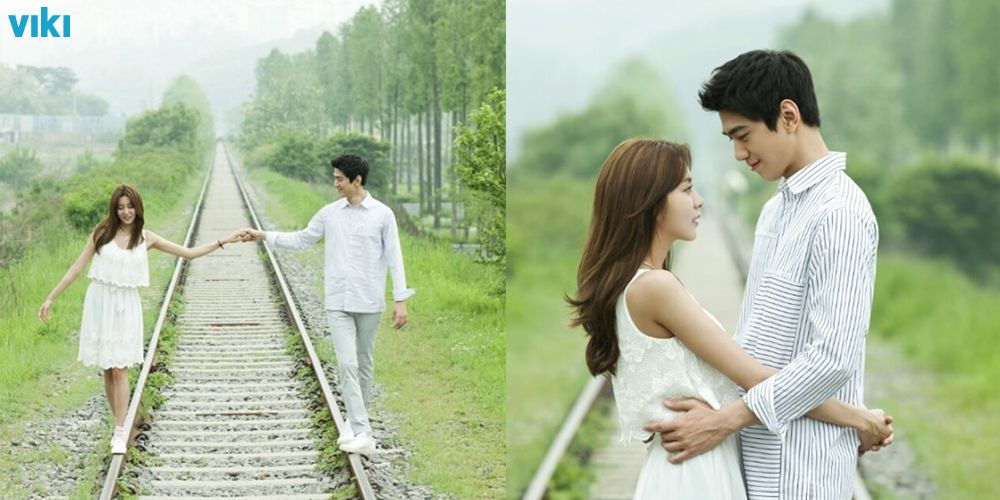 UEE and Sung Joon look perfect together in behind the scenes photos from High Society.