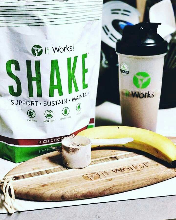 Energize your workouts  build lean muscle mass  and support your healthy metabolism That's the power of plant-based  protein in It Works Shakes!   For more info on how you can get this Awesome Product at my Whole Sale  price ... Contact Me  SERIOUS INQUIRIES ONLY PLEASE!