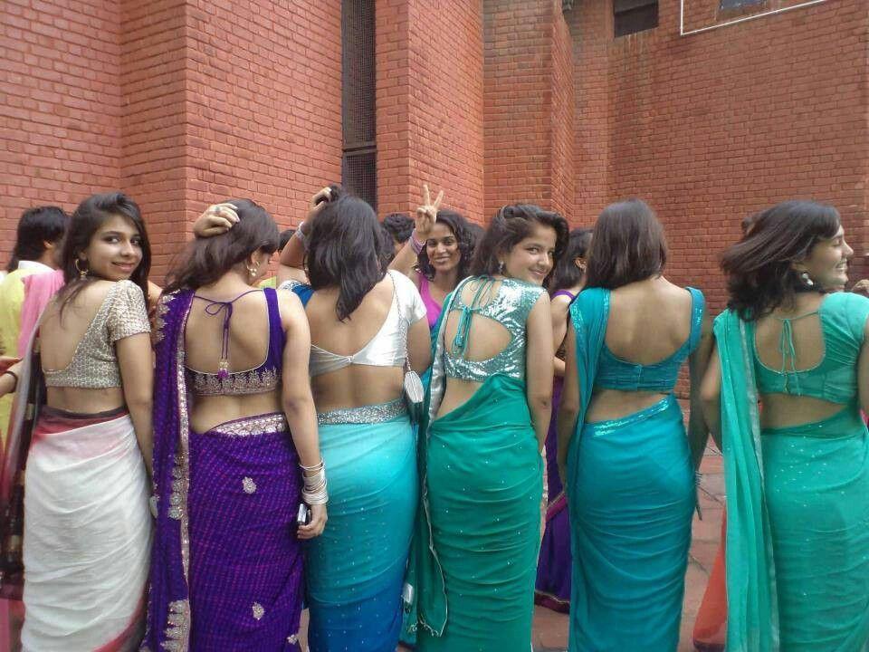 Delhi college girl half nude porn #5