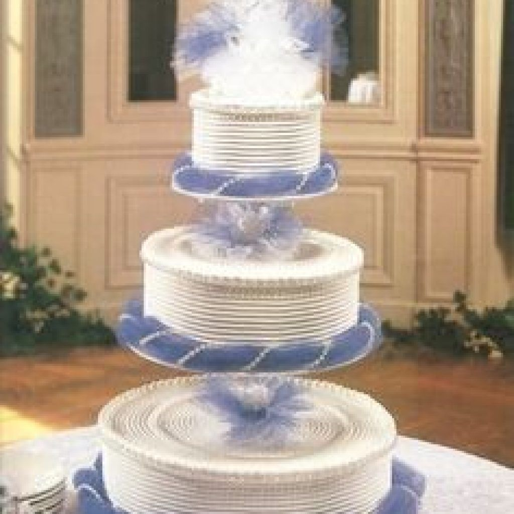Floating Cake Stands On Three Tier Stand Wedding