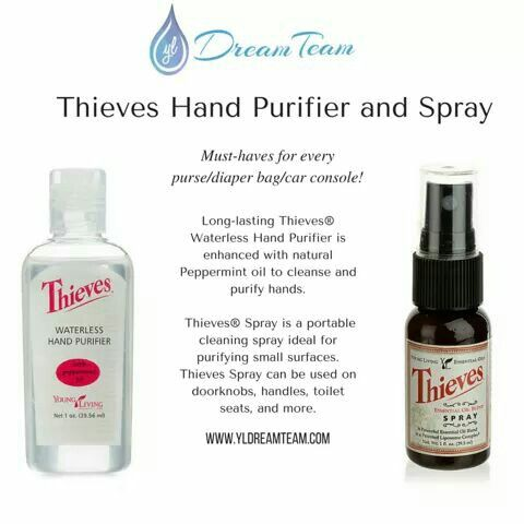 Thieves Spray And Hand Sanitizer Are Must Haves Thieves Spray