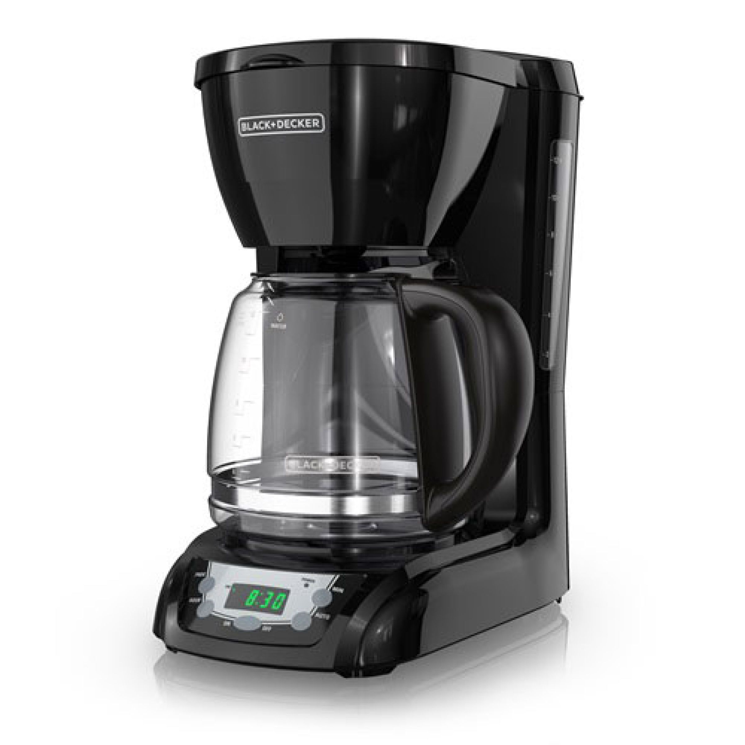 Black u decker cup programmable coffee maker dlx home